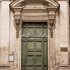 Doorway of Chiesa di Orazione e Morte, Via Giulia, Rome
