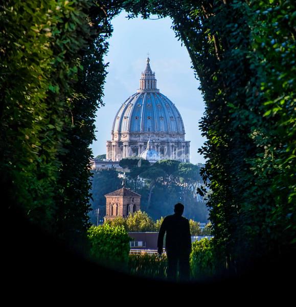Vatican through The Keyhole, Aventino