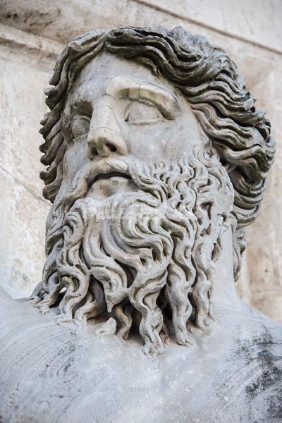 Detail of Statue of Nile, Palazzo Senatorio