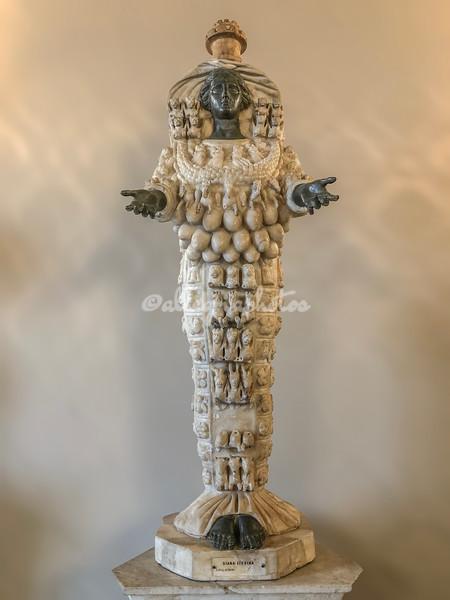 """""""Diana of Ephesus"""", Capitoline Museum, Rome"""
