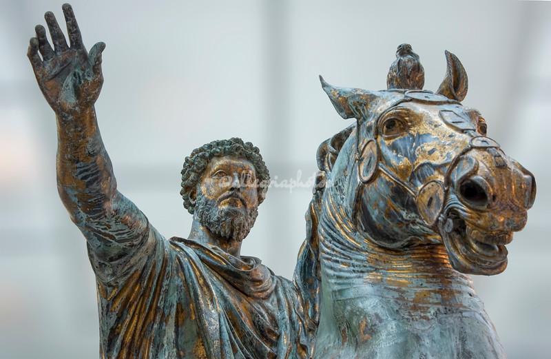Statue of Marcus Aurelius, Capitoline Museum, Rome
