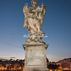 Bernini Angel on the Ponte Sant' Angelo