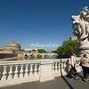 Looking towards Castel Sant'Angelo