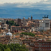 View over Rome from Gianicola