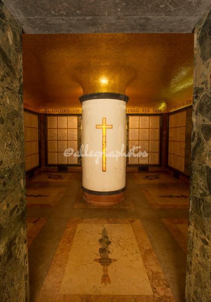 Interior Mausoleo Ossario Gianicolense