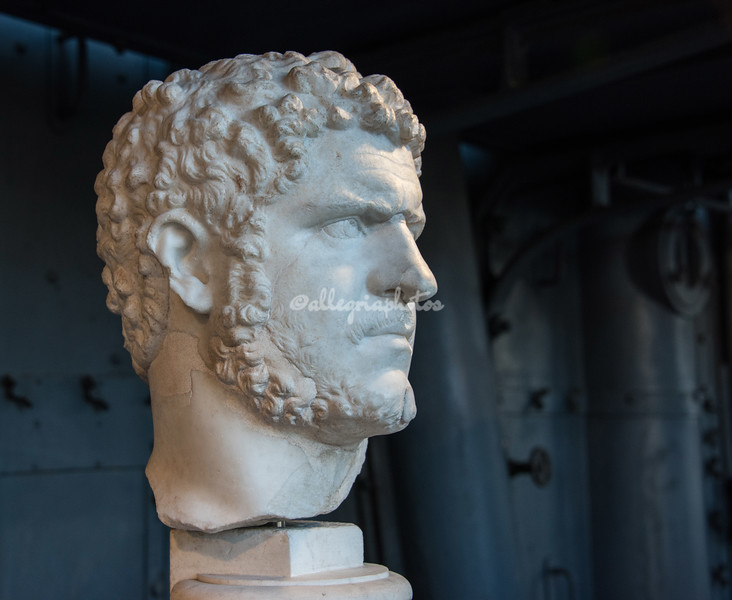 Bust of Caracalla at the Museo Montemartini