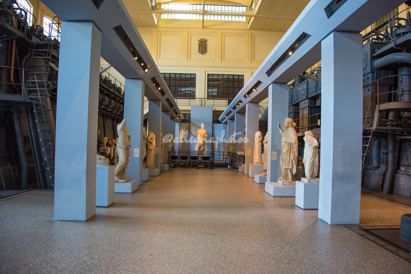 Grand Hall at Museo Montemartini