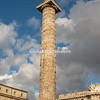 Triumphal column on Piazza Colonna