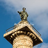 Top of column, Piazza Colonna
