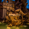 Piazza Navona Fountain of Four Rivers, Rome