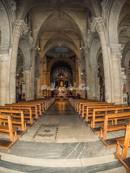 Interior of Santa Maria del Popolo