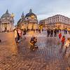 Street performer, Piazza del Popolo