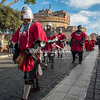 """""""Medieval Soldiers"""" in the Befana Parade, Castel Sant'Angelo, Rome"""