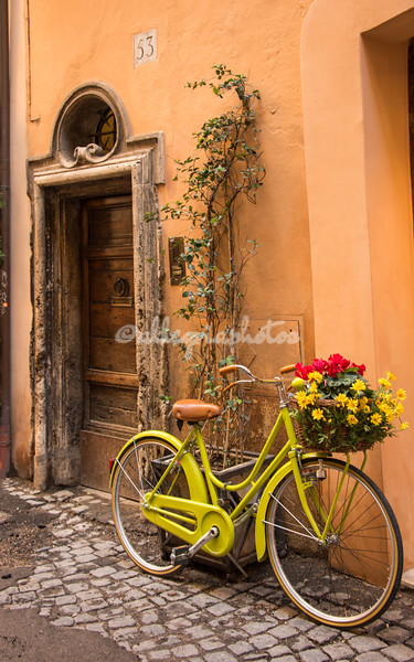 A colorful bicycle