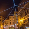 Christmas lights on Piazza Sant Eustachio
