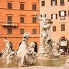Fountain of Neptune, Piazza Navona