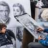 Sidewalk artist, Piazza Navona