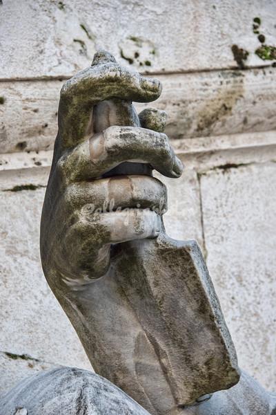 Detail, Piazza Senatorio