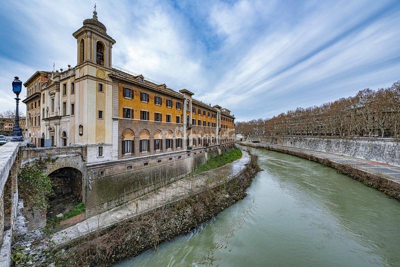 Convento Ospedale S.Giovanni Calibita Fattebenefratelli, Isla Tiberina, Rome