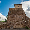 An old watchtower on the Via Appia Antica