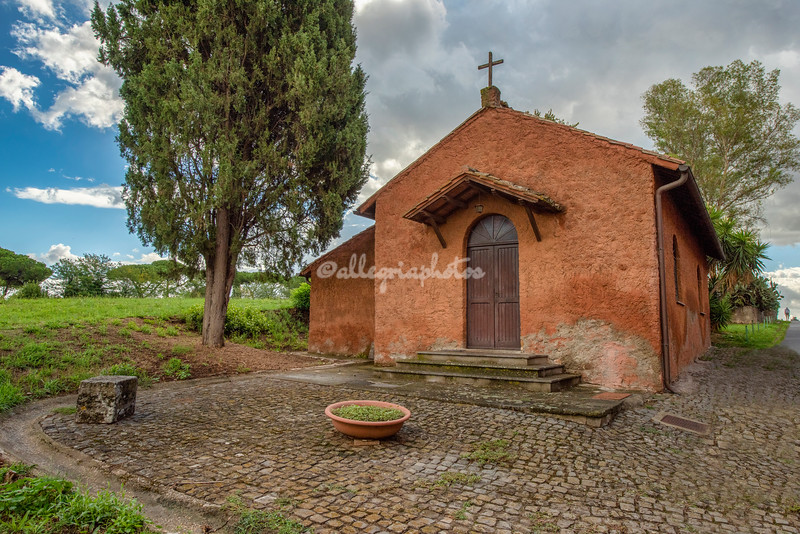 Small chapel on the Appia Antica, Rome