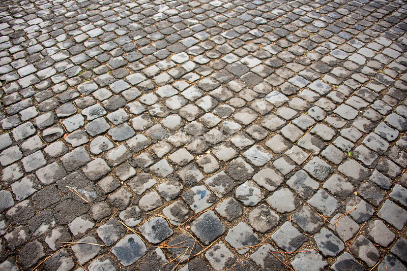 Cobblestones on the Appia Antica, Rome