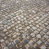 Cobblestones on the Appia Antica, Rome