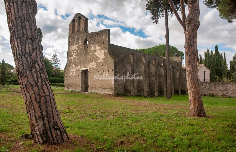 Chiesa di San Nicola a Capo di Bove, Appia Antica