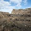 Interior of the Colosseum