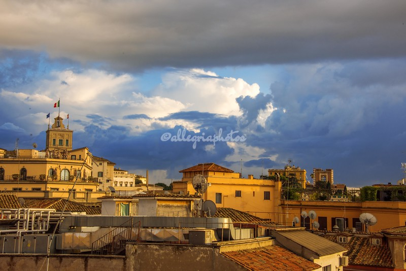 Over the rooftops of Rome