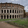 The Theater of Marcellus and Octavia's Gate, Rome