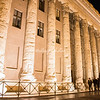 Piazza di Pietra (the Stock Exchange) by night
