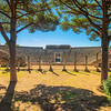 The Roman amphitheater, Ostia Antica
