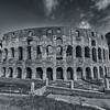 The Colosseum in Black and White, Rome