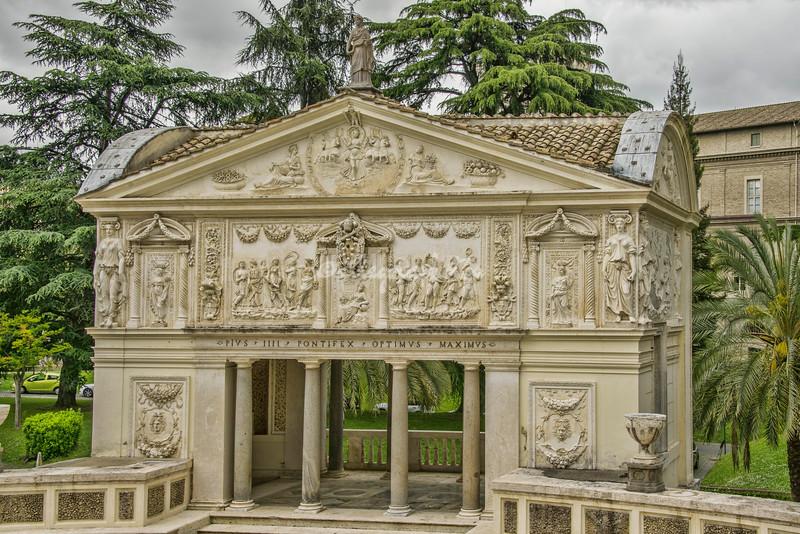 Vatican Gardens Casetta