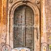 Door on Via di San Simone
