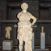 Roman statue in the former power plant at Montemartini
