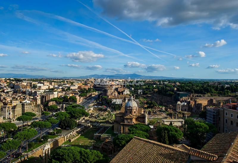 View from Vittoriano