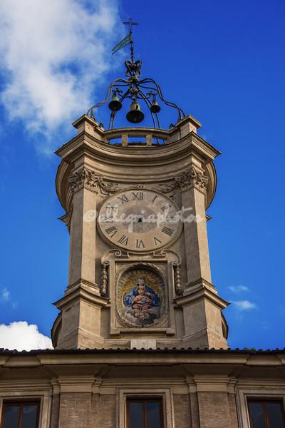 The Piazza del Orologio