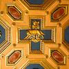 Detail ceiling, Church of SS Cosma e Damiano