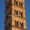 The bell tower, San Francesco Romana