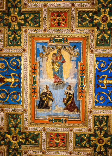 Ceiling San Francesco Romana
