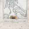Alms box to pay for lighing in cemetery, Chiesa di Orazione e Morte, Via Giulia, Rome