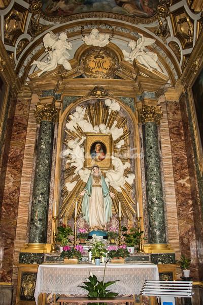 Altar Sant Eustachio