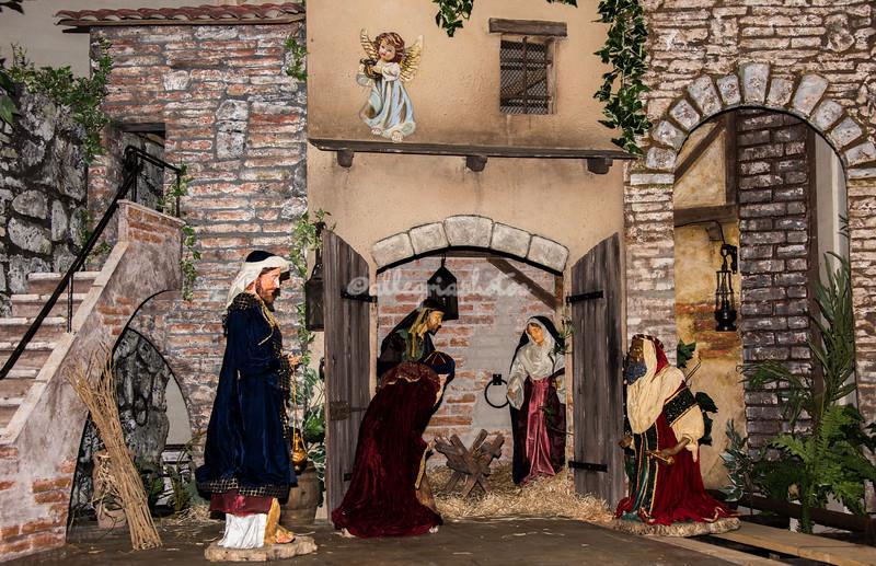 Christmas Crib at Santa Anastasia