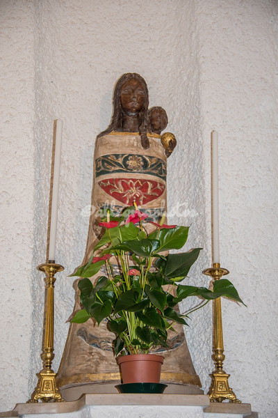 The Statue of Santa Maria del Loreto