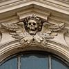Detail Chiesa di Orazione e Morte,Via Giulia, Rome
