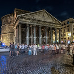 The Pantheon at night, Rome