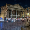 The Pantheon at night, Rome