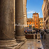 Looking towards St. Eustachio from the Pantheon